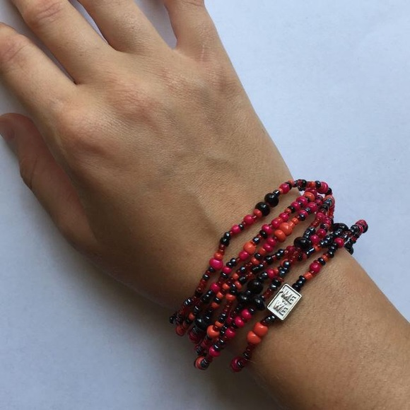 New ME to WE Red Rafiki Bracelet